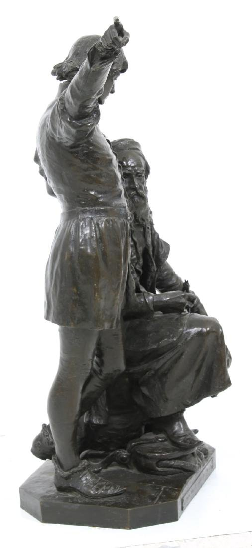 monumental John Cassidy Figural Grouping - 7
