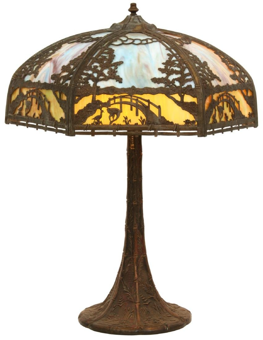 Empire Lamp Co. Overlay Table Lamp