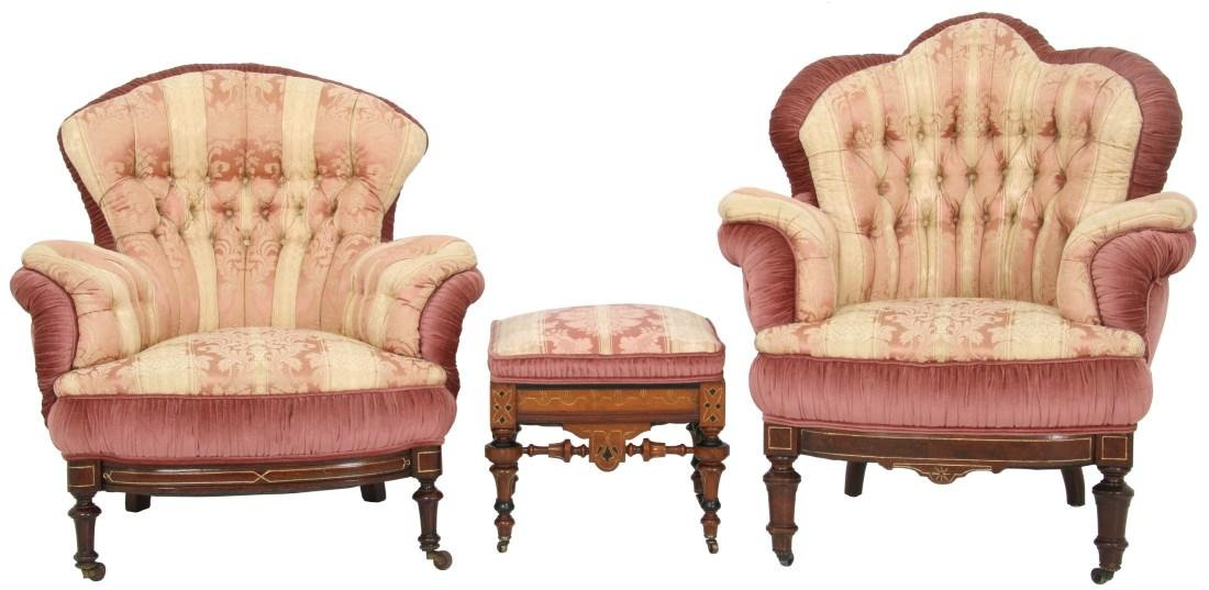 3 Piece Turkish-style Parlor Set