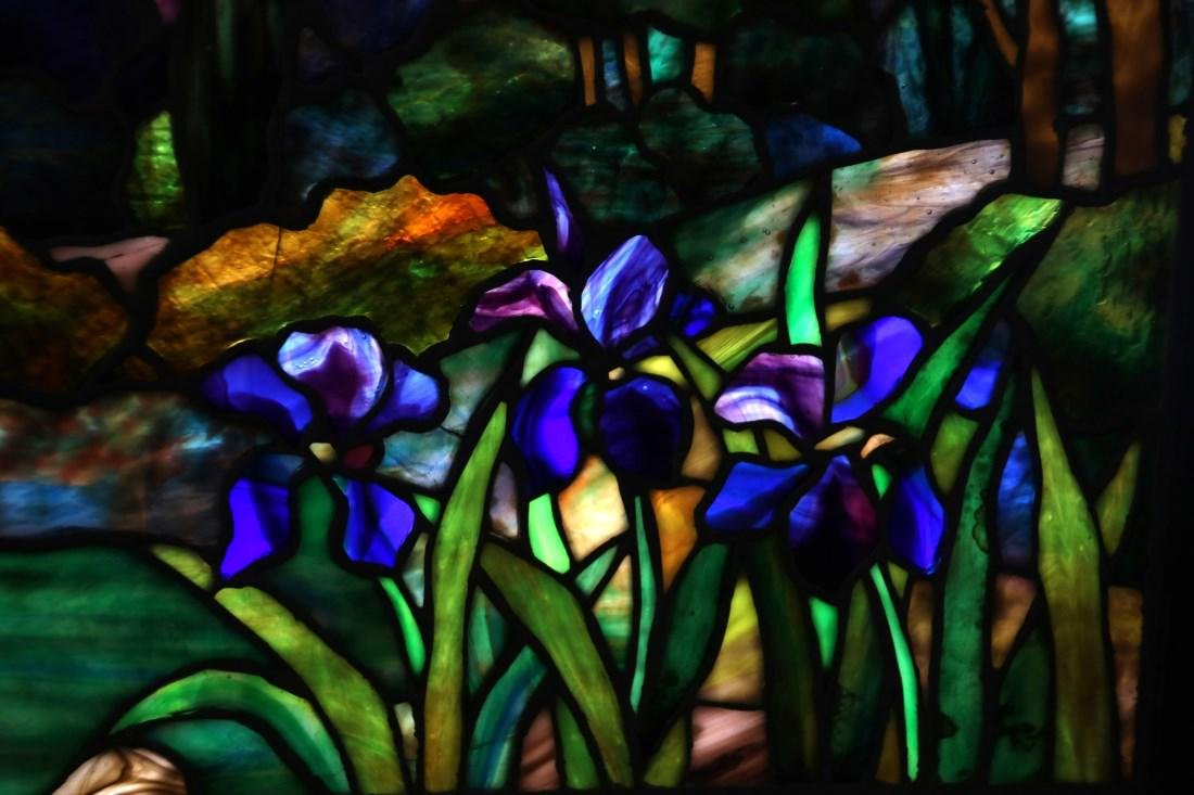 Attr. Tiffany Studios Landscape Window - 9