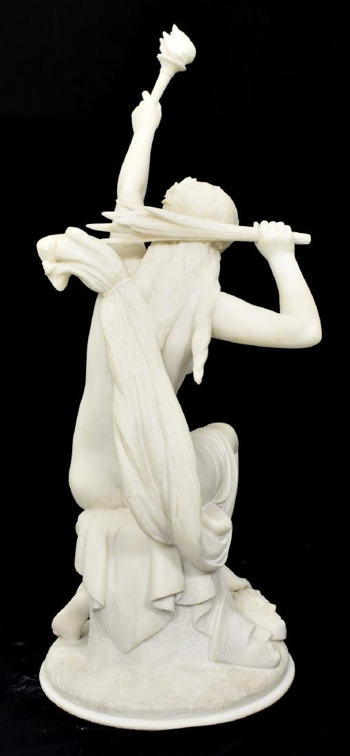 C. Capellaro Carved Marble Sculpture - 7