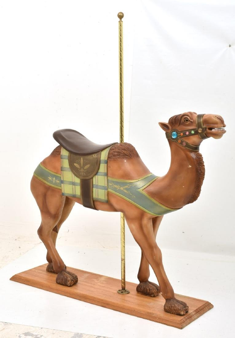 Charles Looff Jeweled Carousel Camel - 2