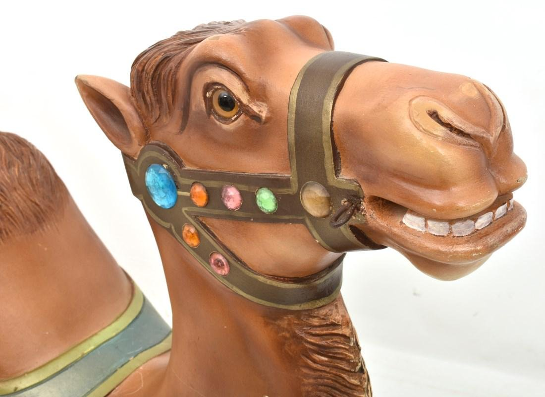 Charles Looff Jeweled Carousel Camel - 4