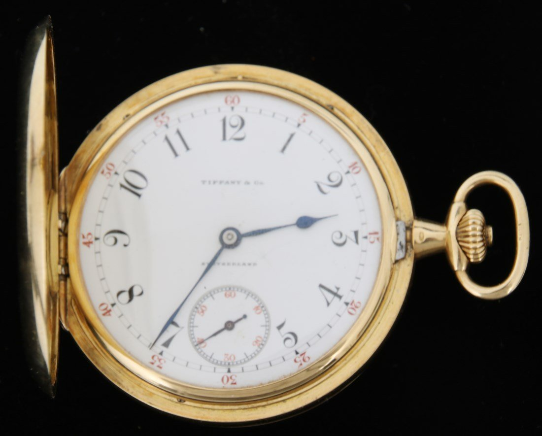18K Tiffany & Co. Patek Philippe Pocket Watch