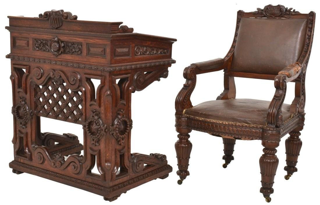 House Of Representatives Desk & Chair