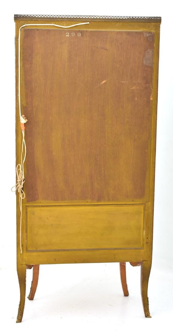Brass Mounted French Vitrine Curio Cabinet - 7