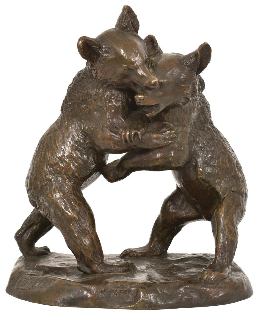 Victor Peter Bronze Bear Cubs