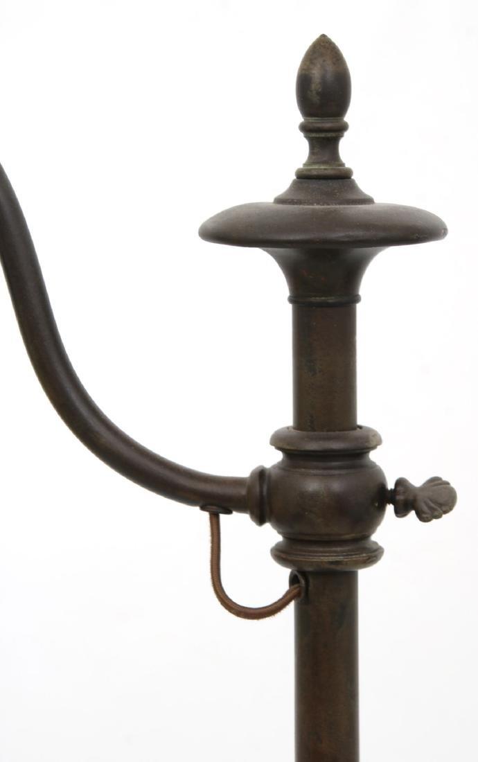 Handel Bridge Lamp With Gold Iridescent Shade - 3