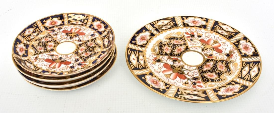 18 Pcs. Royal Crown Derby Imari Pattern - 6