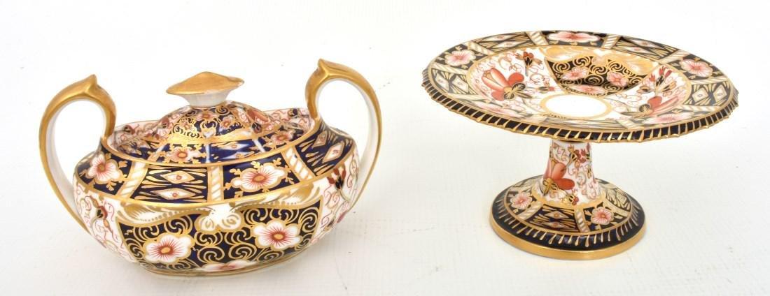 18 Pcs. Royal Crown Derby Imari Pattern - 8