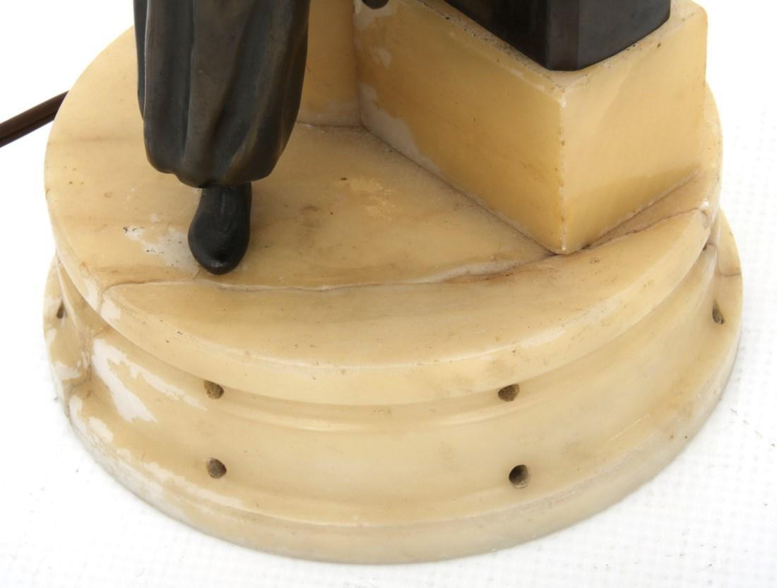 German Deco Dancer Figural Lamp - 5