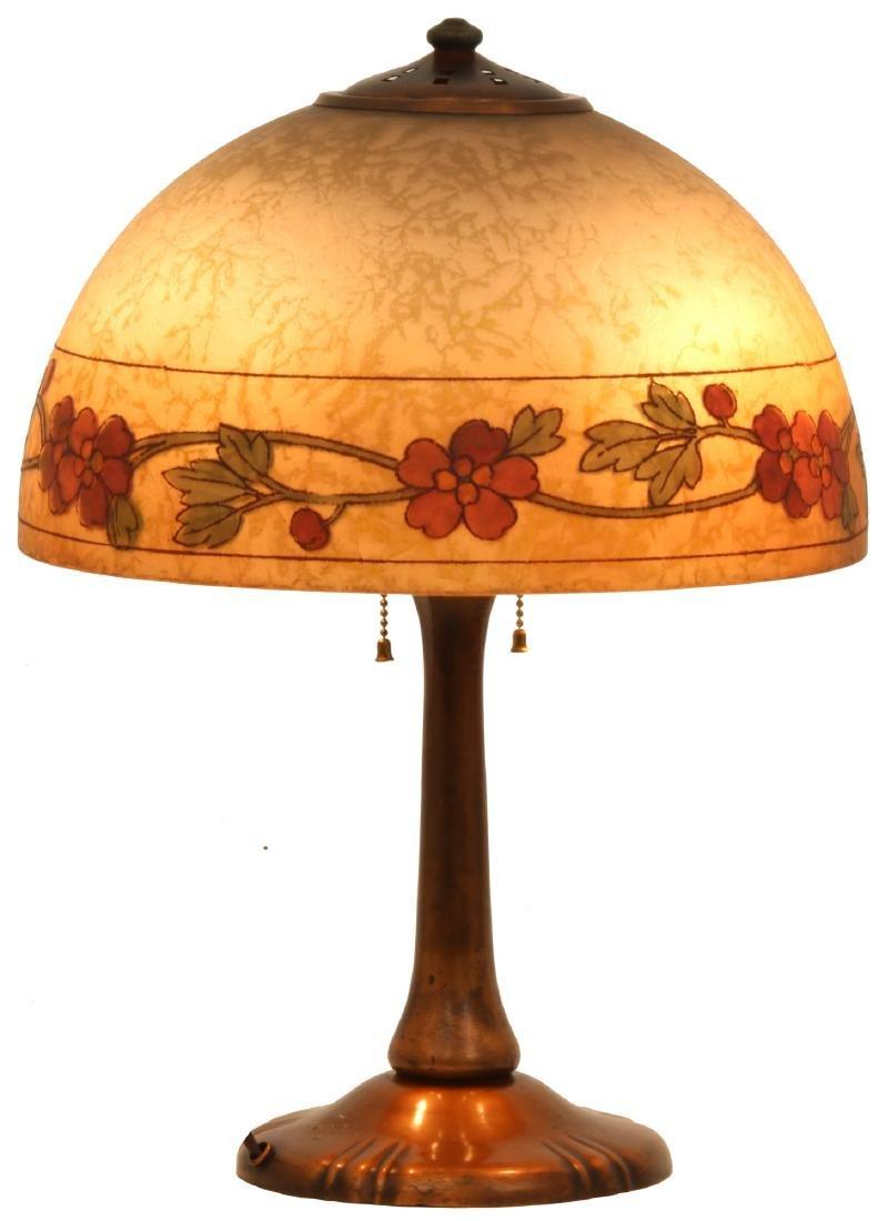 14 in. Handel Reverse Painted Table Lamp