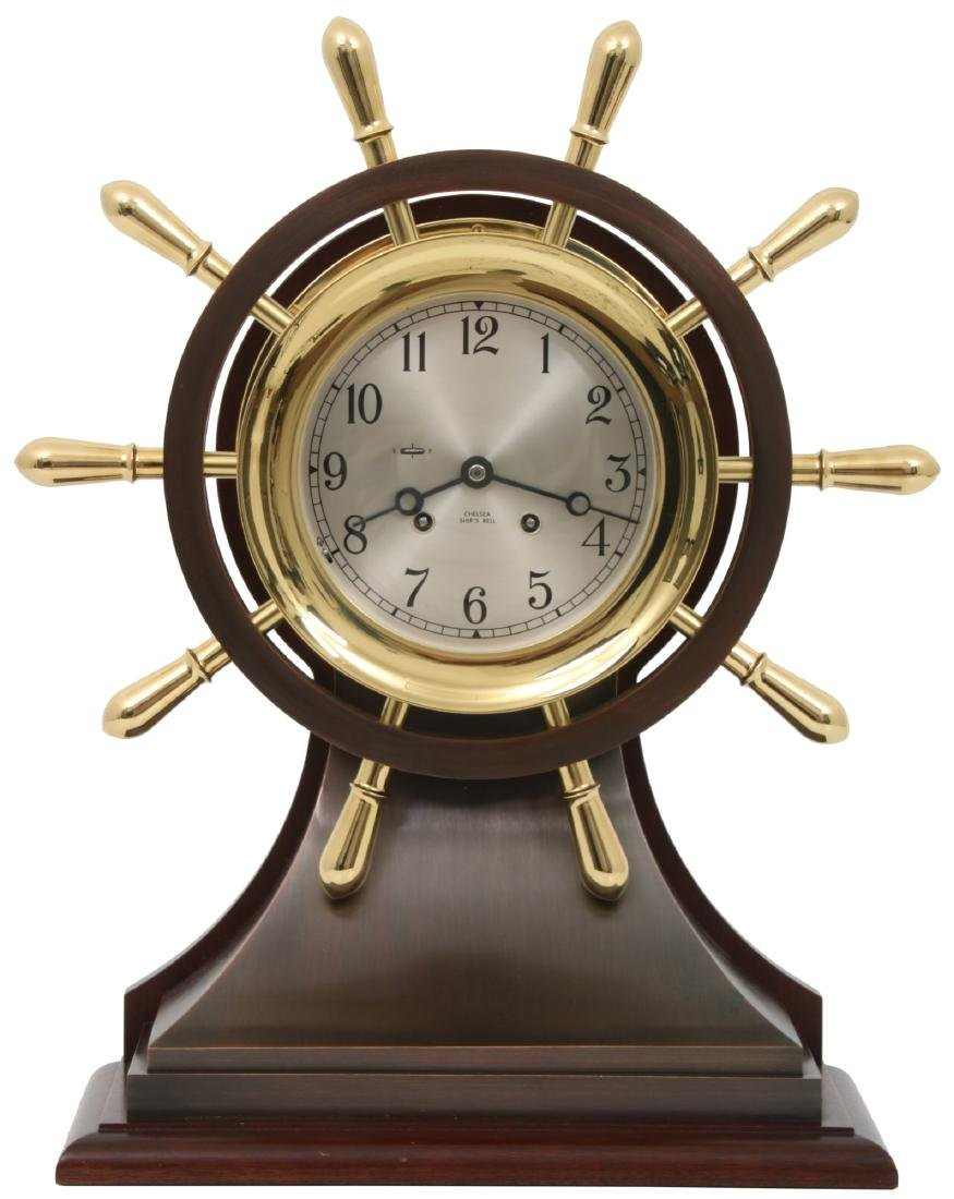 Chelsea Helm Ship's Bell Limited Edition Clock