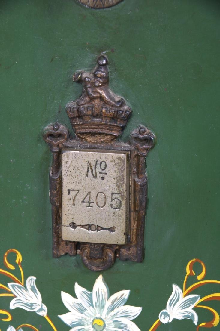 Victorian Cast Iron Parlor Safe - 3