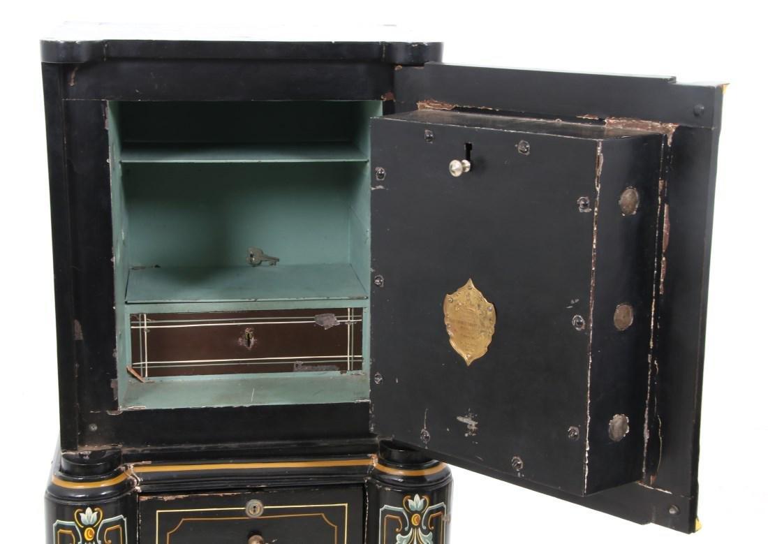 Victorian Cast Iron Parlor Safe - 7