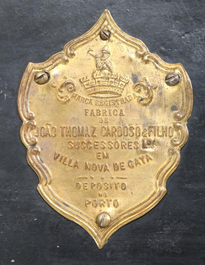 Victorian Cast Iron Parlor Safe - 8