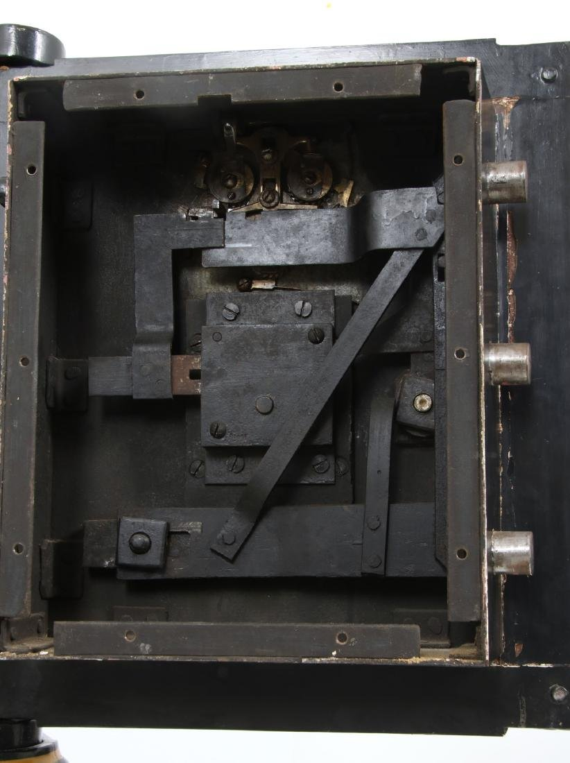 Victorian Cast Iron Parlor Safe - 9