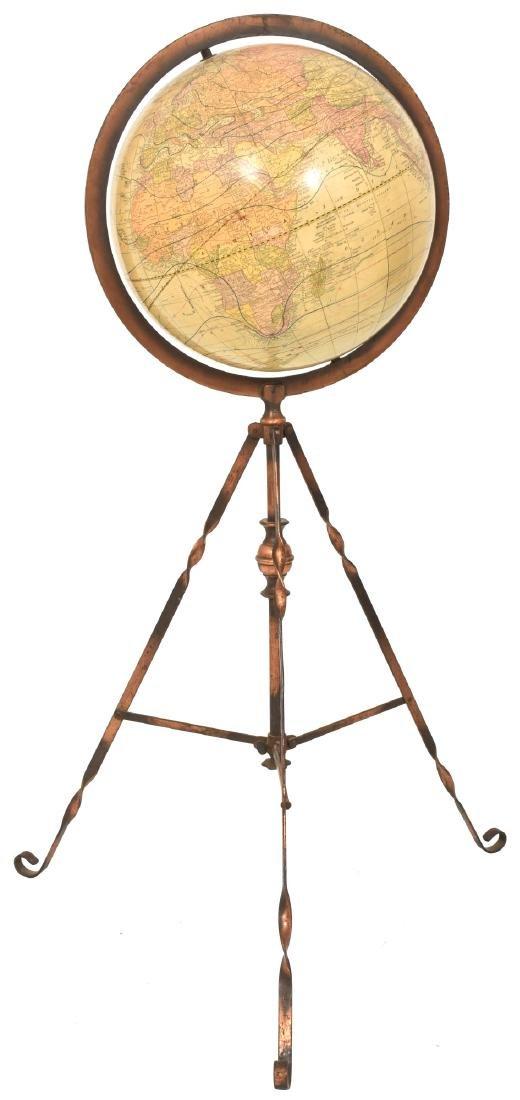 George Cram 12 in. Floor Model Globe