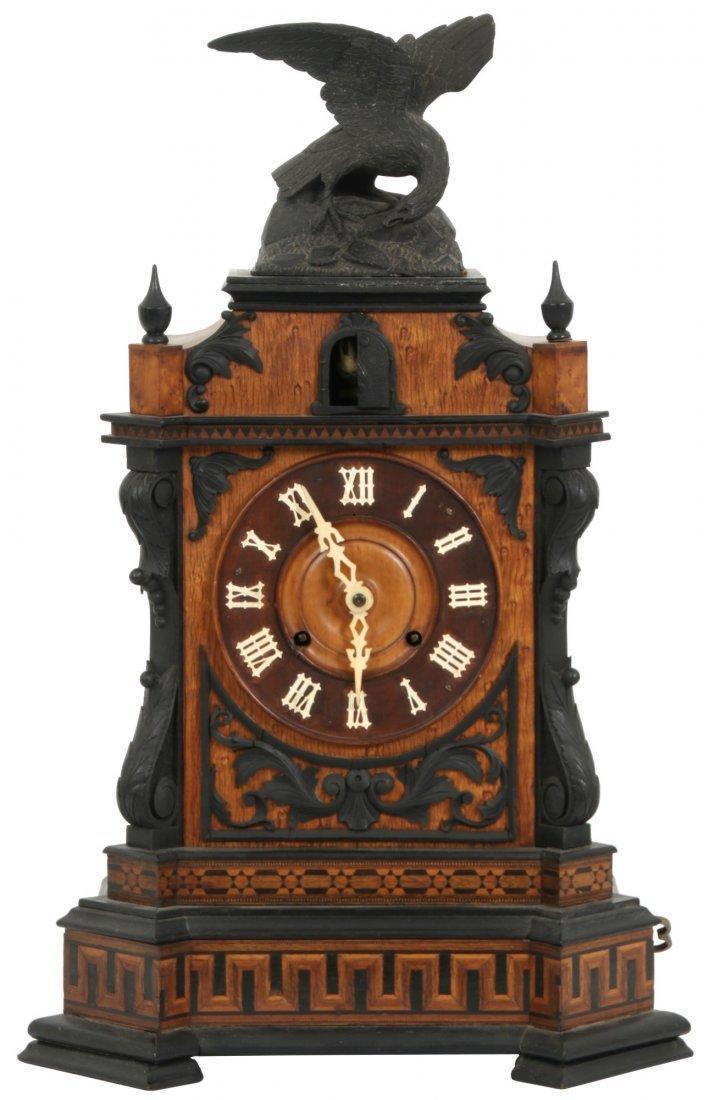 Beha Double Fusee Table Model Cuckoo Clock