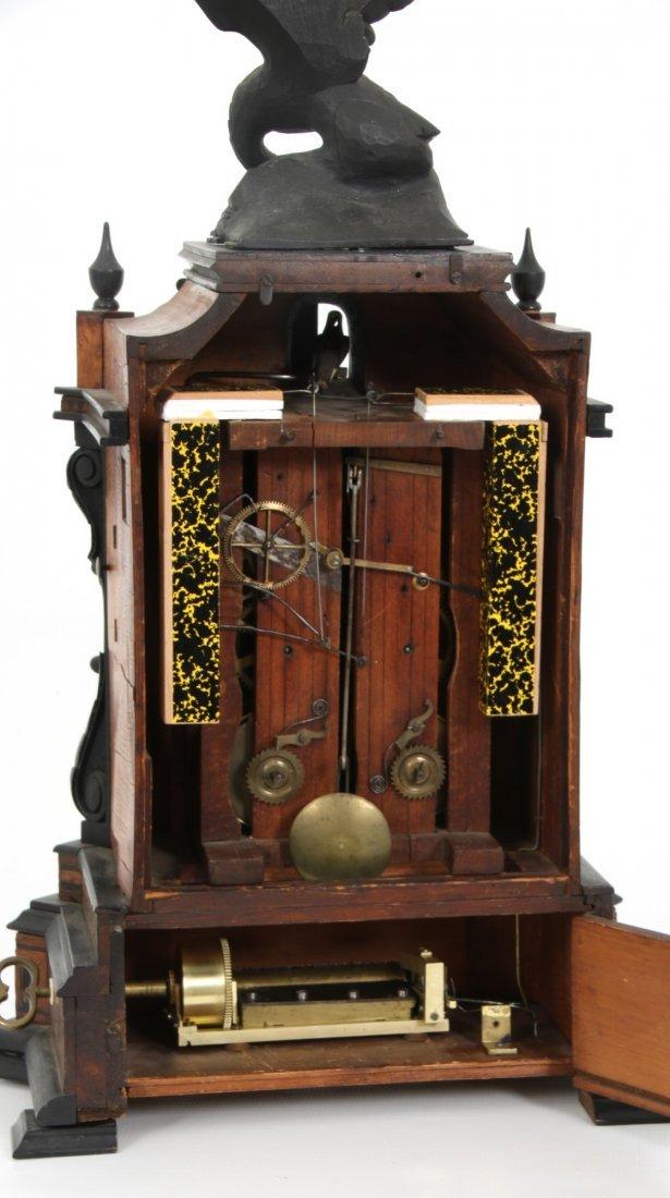 Beha Double Fusee Table Model Cuckoo Clock - 2