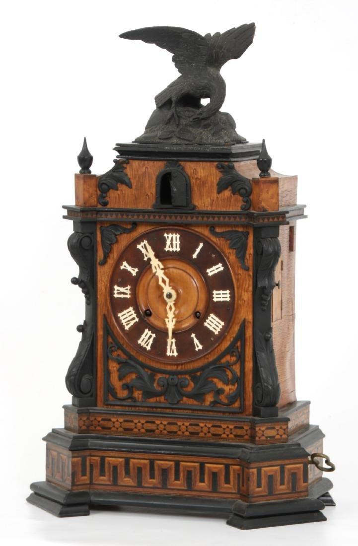 Beha Double Fusee Table Model Cuckoo Clock - 3