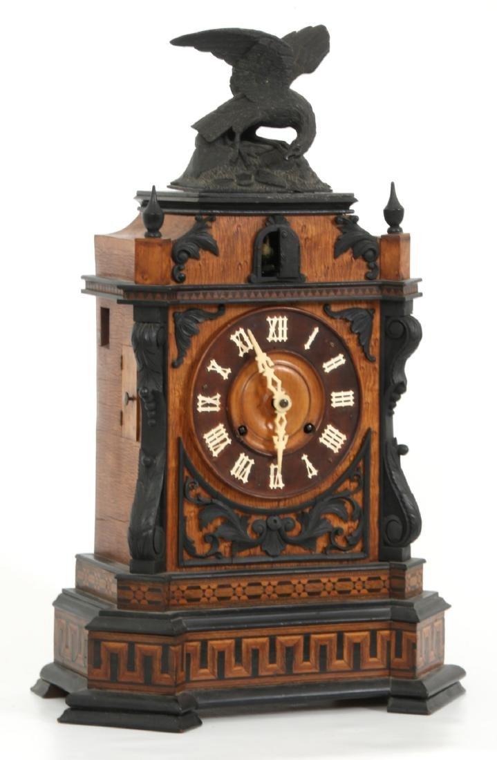 Beha Double Fusee Table Model Cuckoo Clock - 4