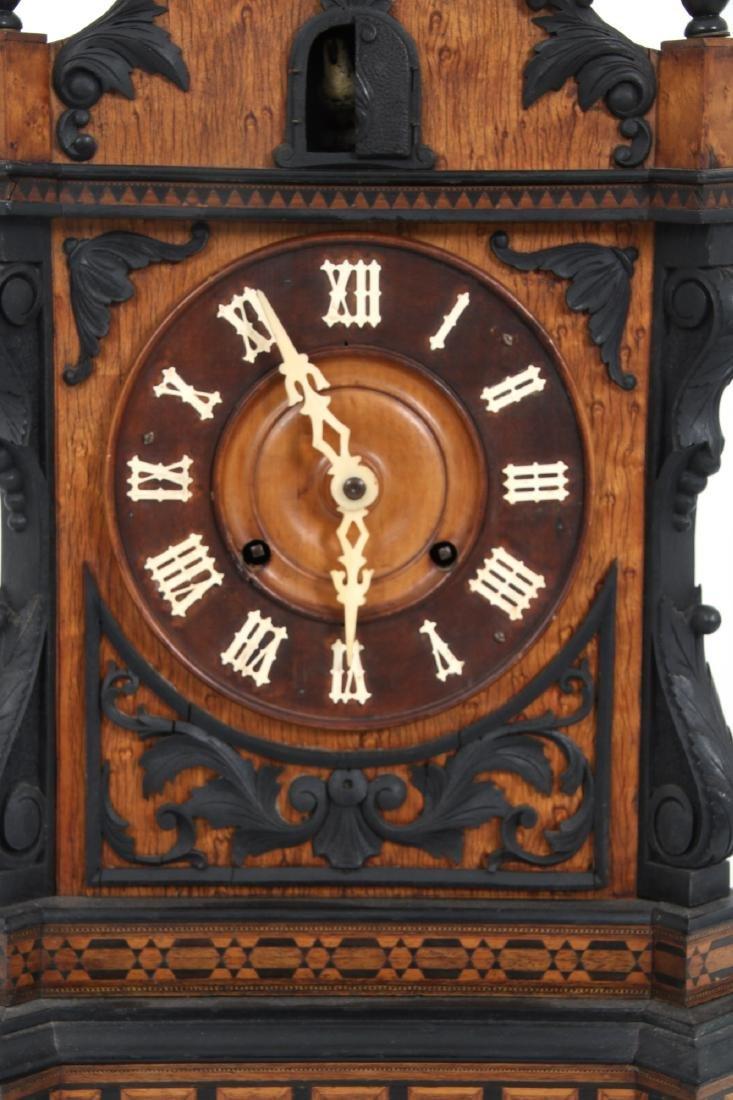 Beha Double Fusee Table Model Cuckoo Clock - 6