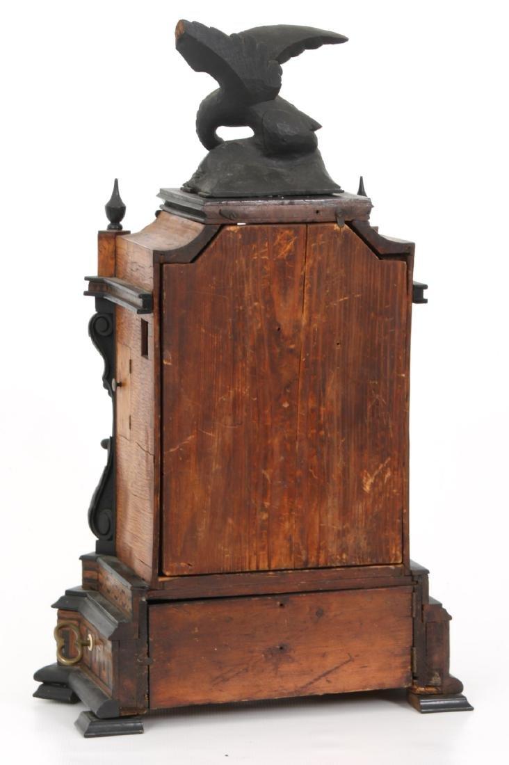 Beha Double Fusee Table Model Cuckoo Clock - 7