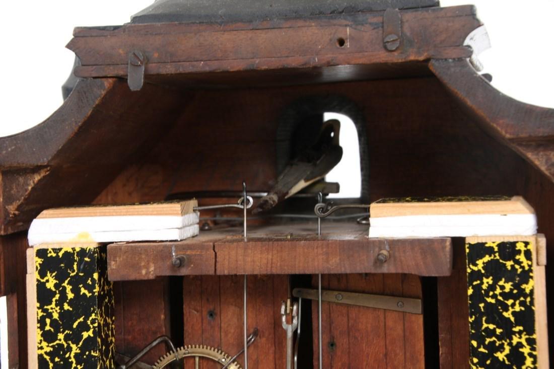 Beha Double Fusee Table Model Cuckoo Clock - 8