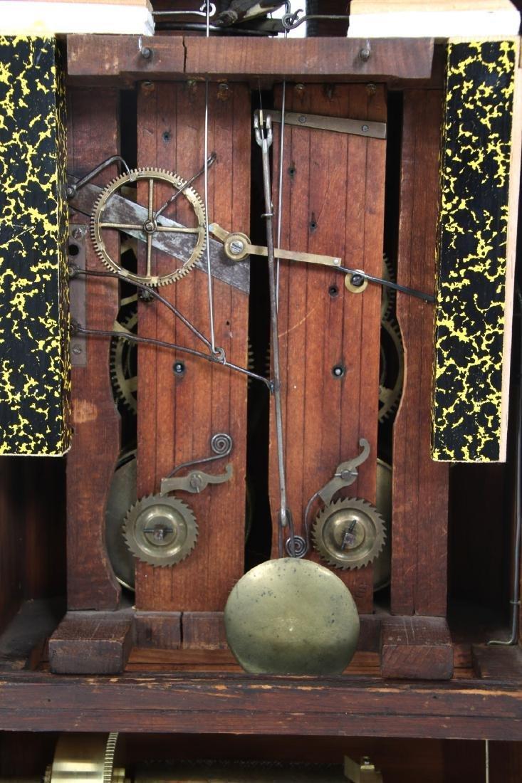 Beha Double Fusee Table Model Cuckoo Clock - 9