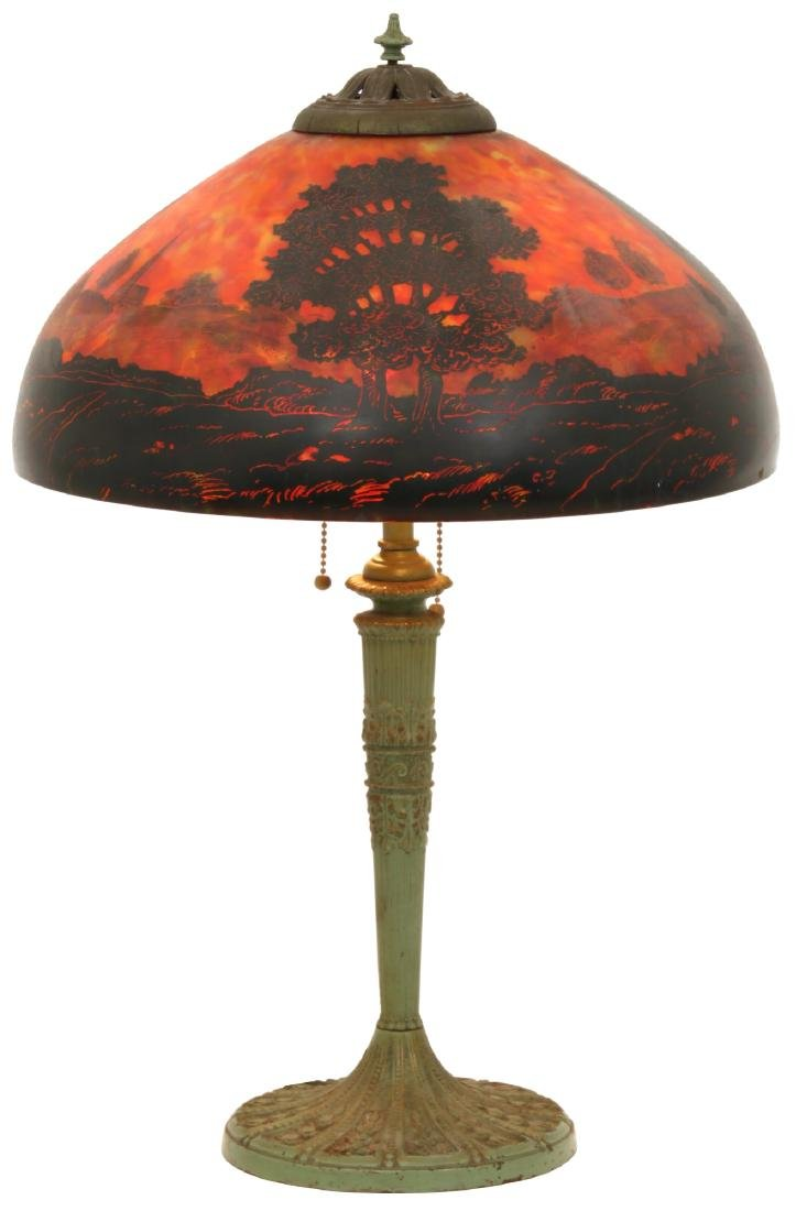 16 in. Pittsburgh Landscape Table Lamp