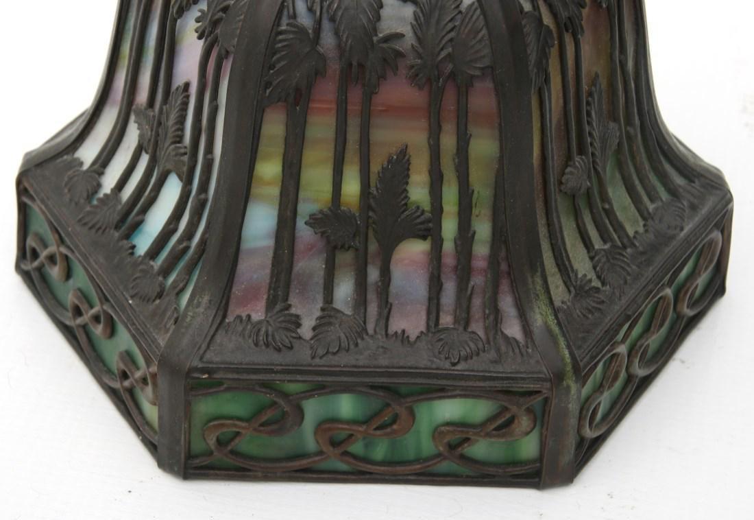 Handel Tropical Sunset Overlay Bridge Lamp - 10