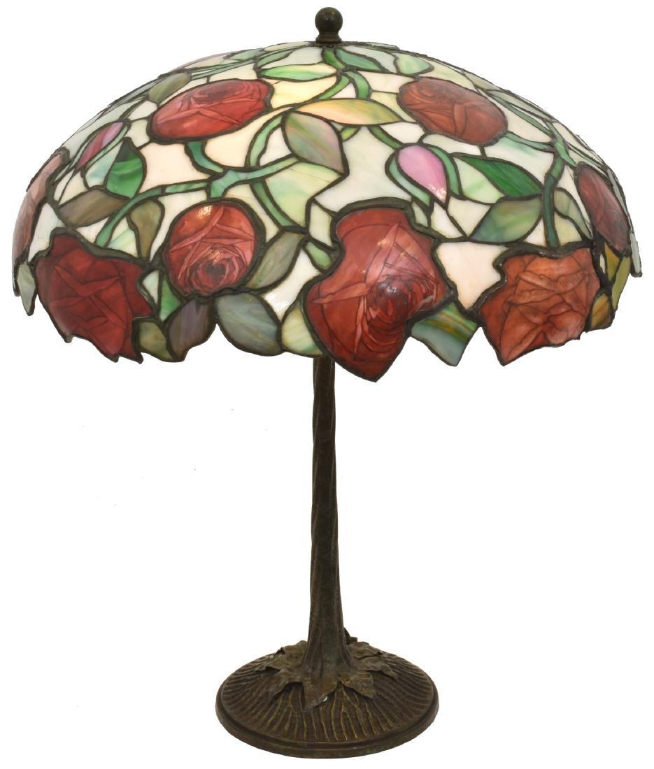 19 in. John Morgan Rose Table Lamp