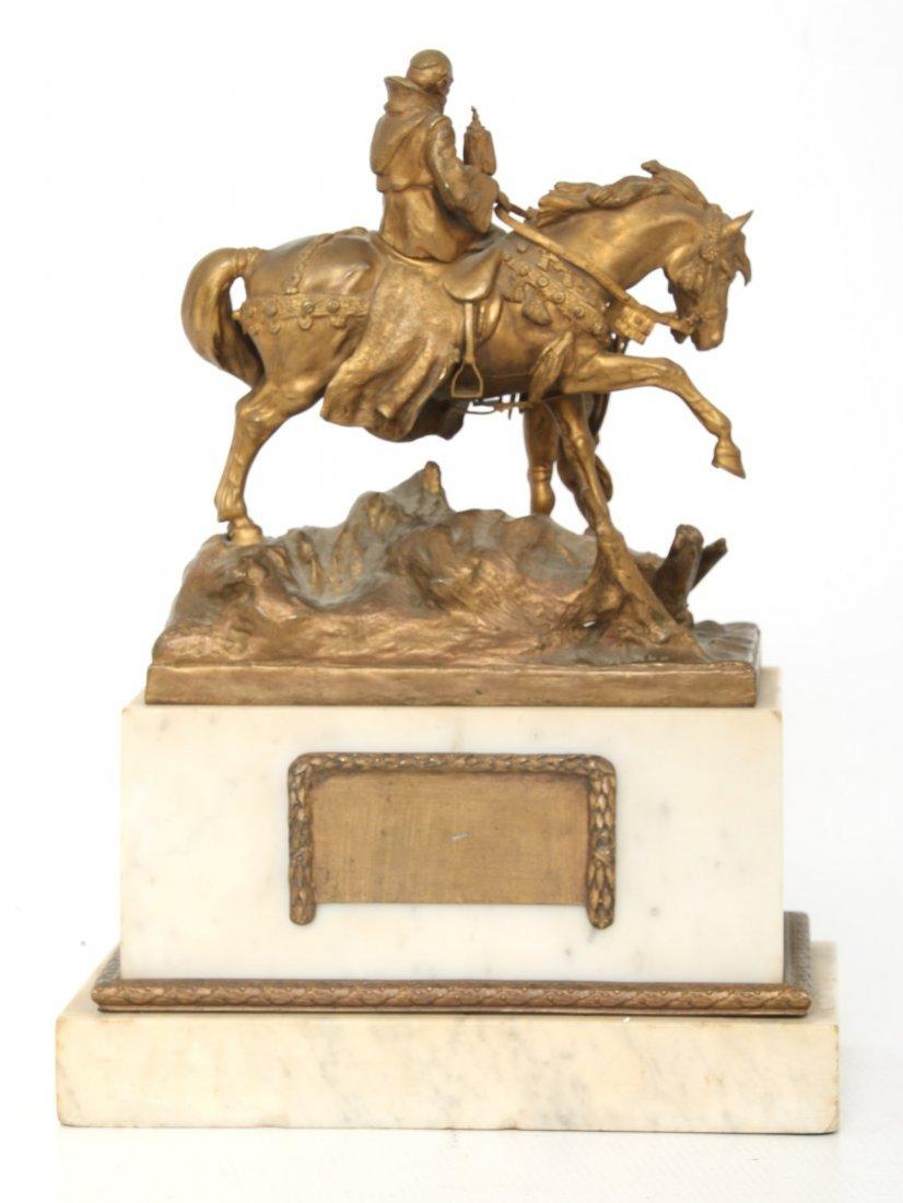 "Carl Kauba Bronze ""Rudolph of Habsburg"" - 3"