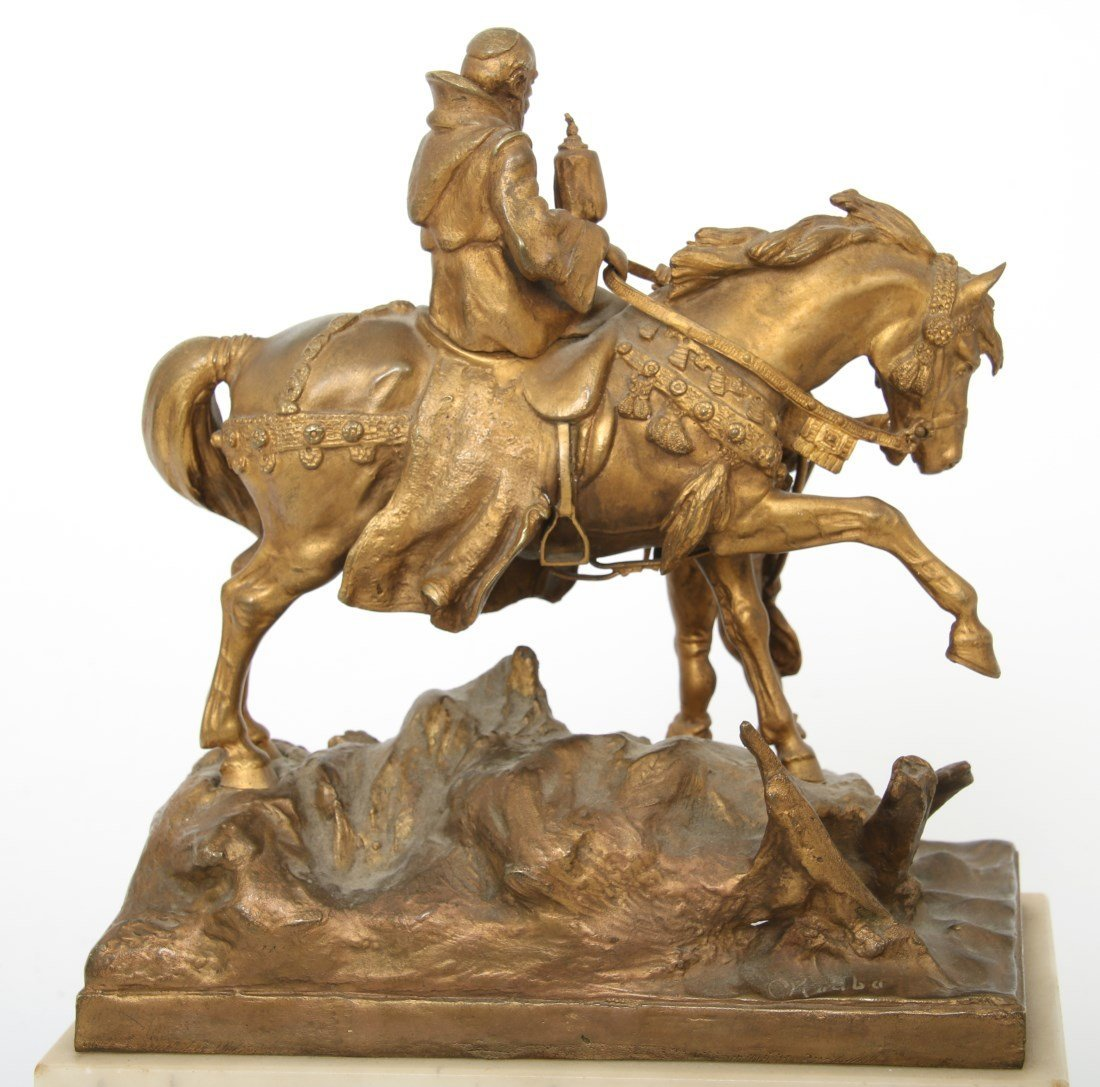 "Carl Kauba Bronze ""Rudolph of Habsburg"" - 4"