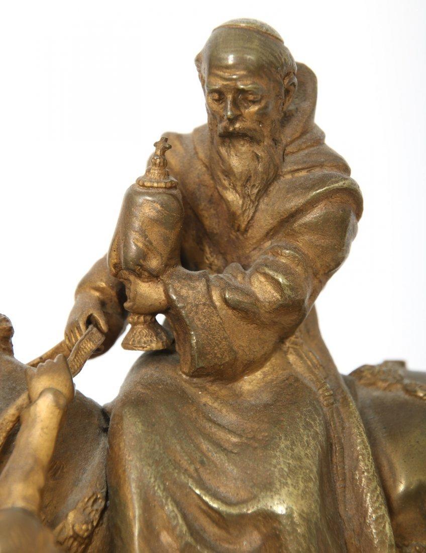 "Carl Kauba Bronze ""Rudolph of Habsburg"" - 6"