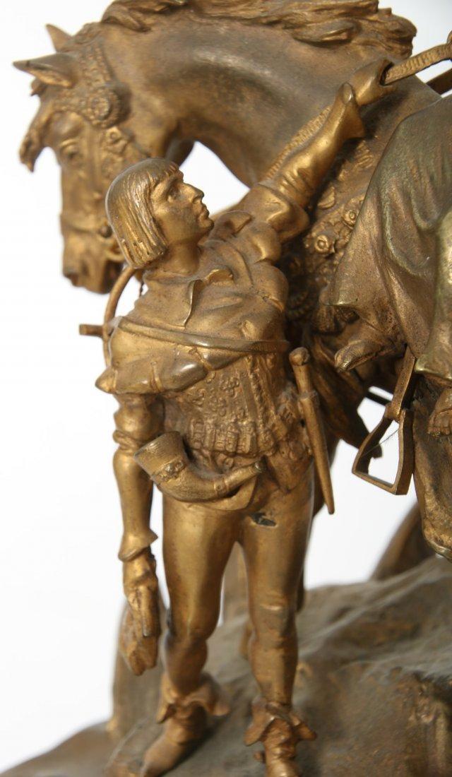 "Carl Kauba Bronze ""Rudolph of Habsburg"" - 8"
