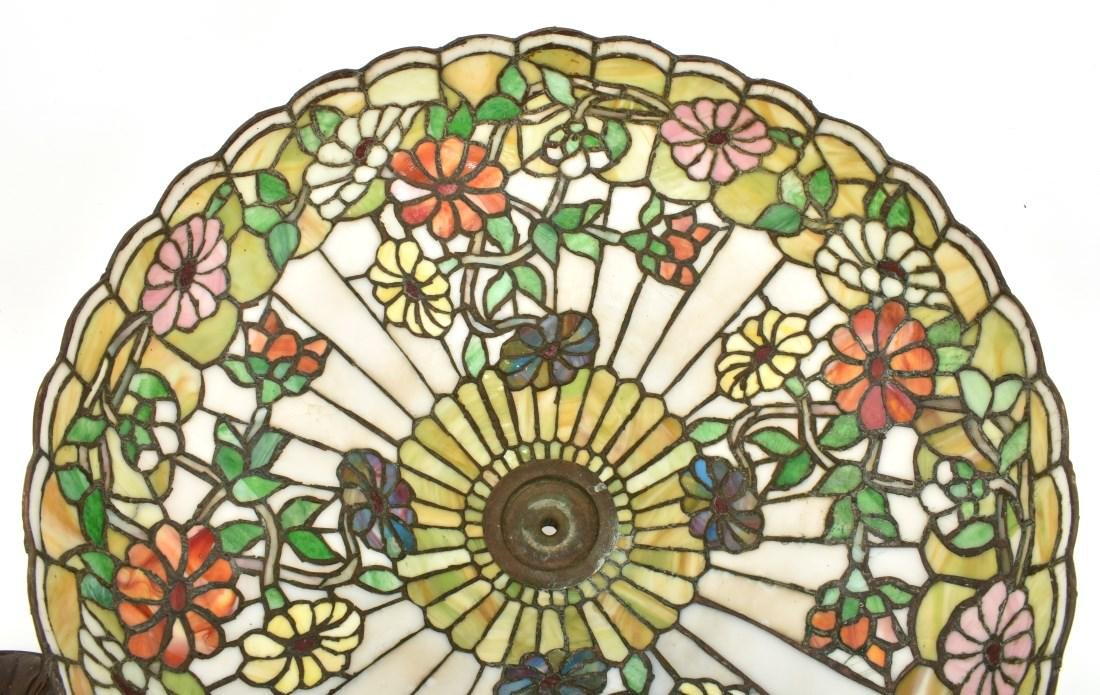 24 in. Chicago Mosaic Daisy Table Lamp - 10