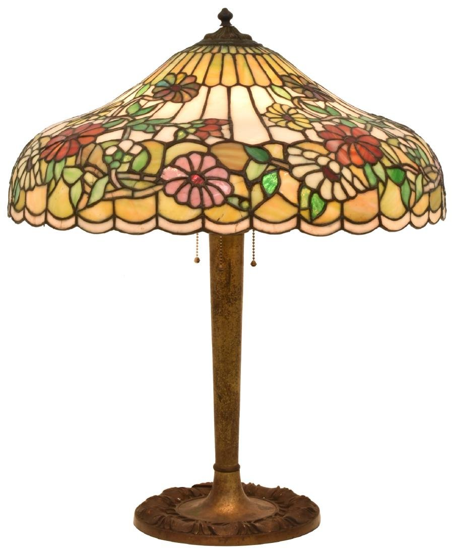 24 in. Chicago Mosaic Daisy Table Lamp