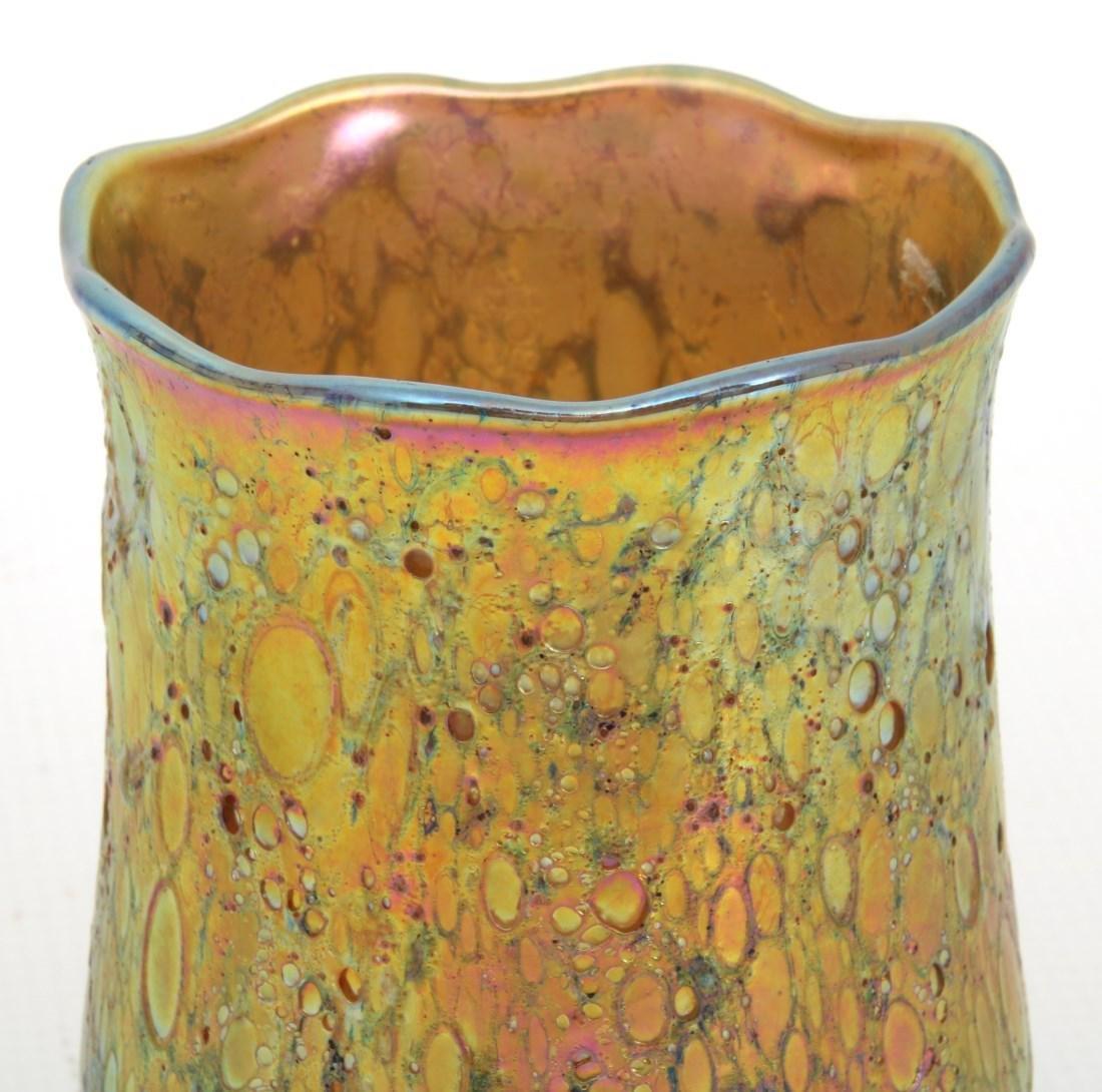 3 Light Brass Ceiling Fixture - 8