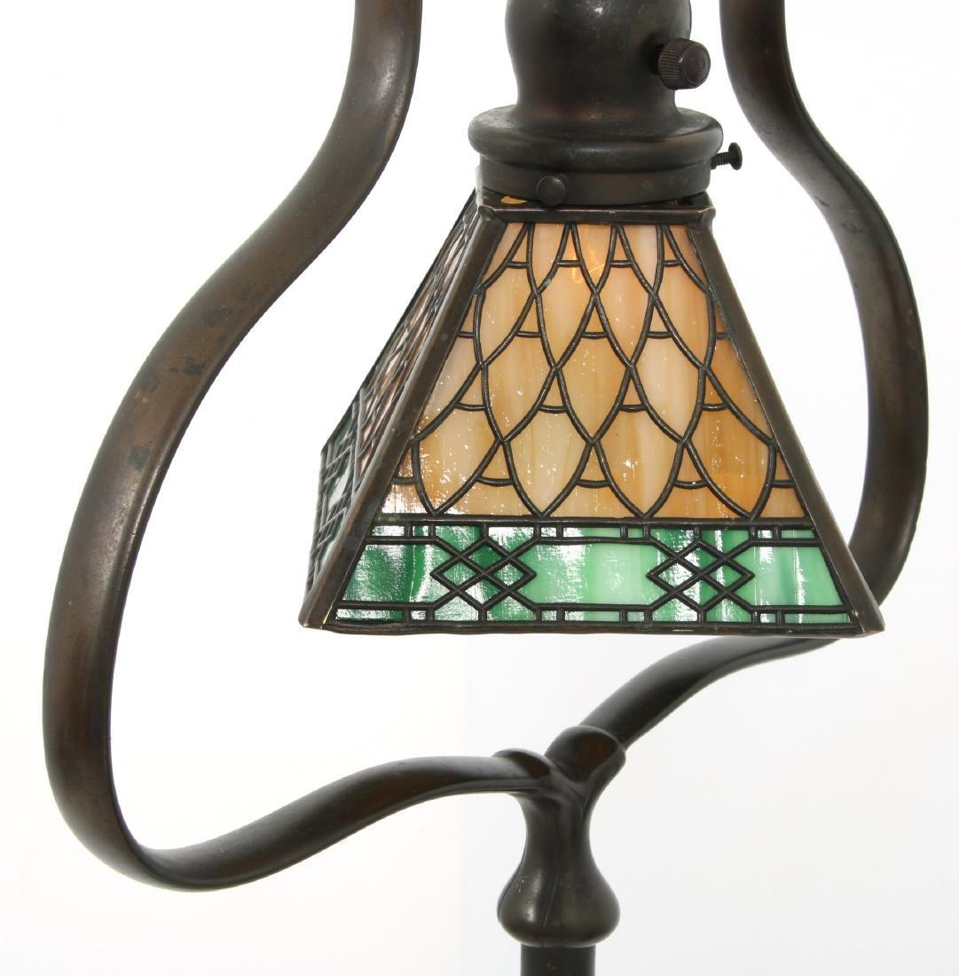 Handel Overlay Harp Floor Lamp - 5