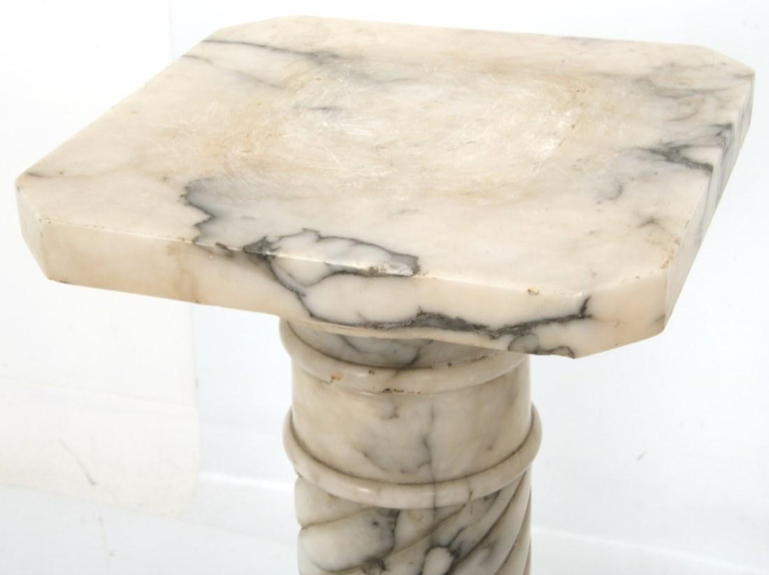 Pr. Carved Marble Pedestals - 3