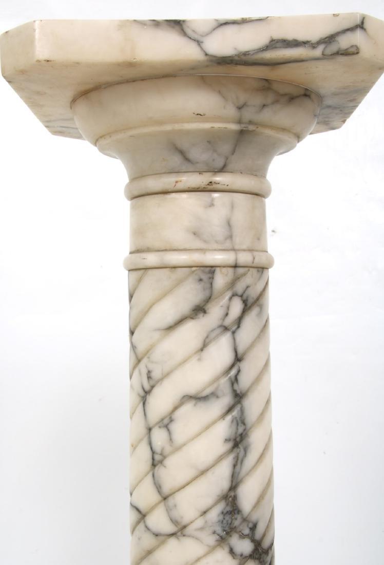 Pr. Carved Marble Pedestals - 5