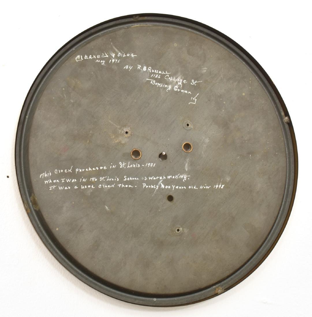 Waterbury No. 67 Weight Driven Wall Regulator - 8