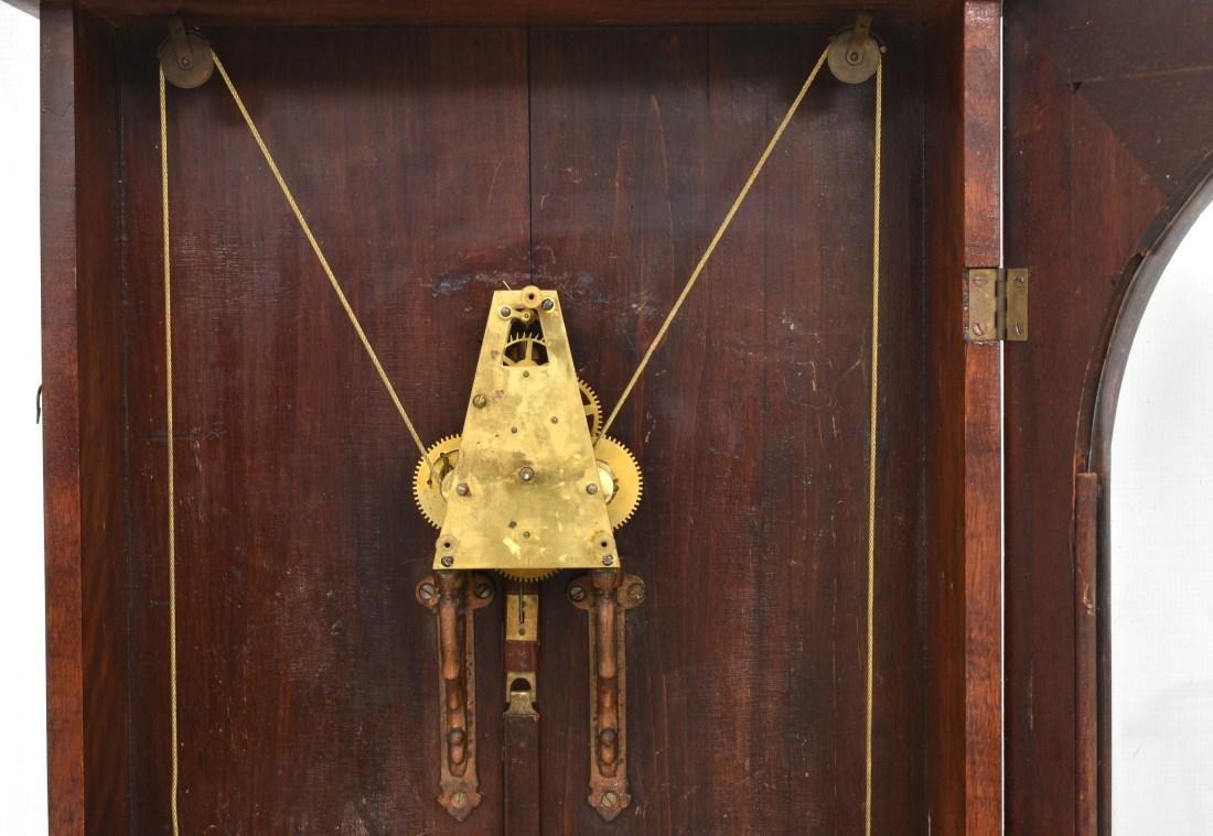 Waterbury No. 67 Weight Driven Wall Regulator - 9