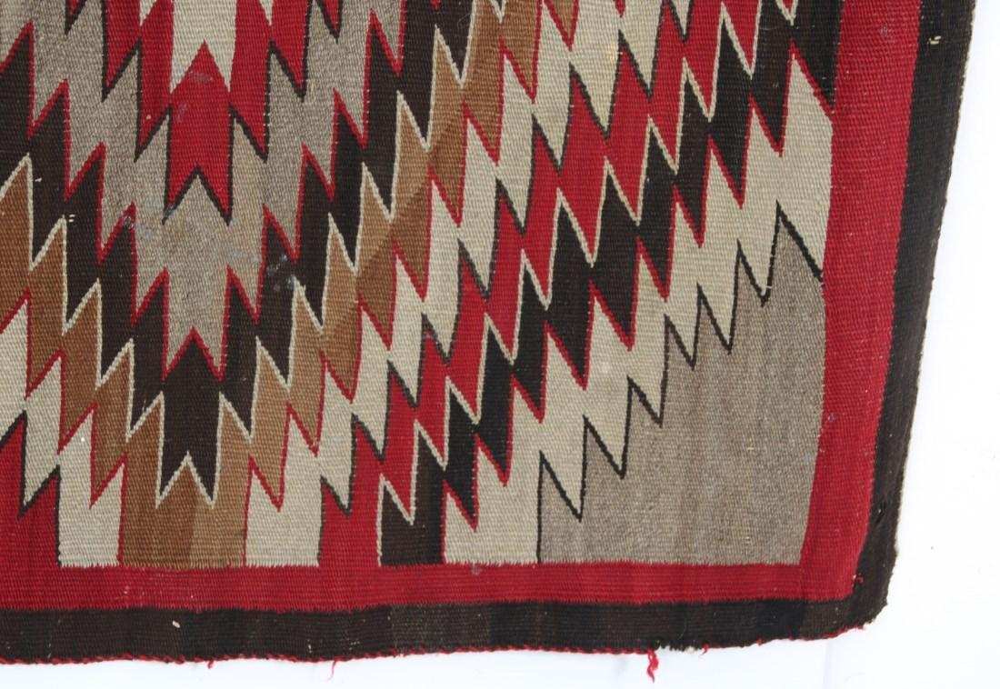 Early Native American Indian Rug - 5