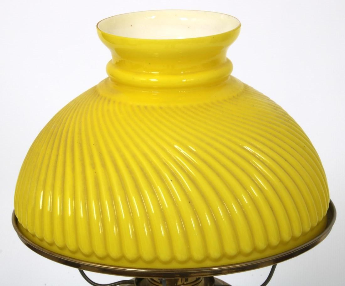 Longwy Pottery Oil Lamp - 4