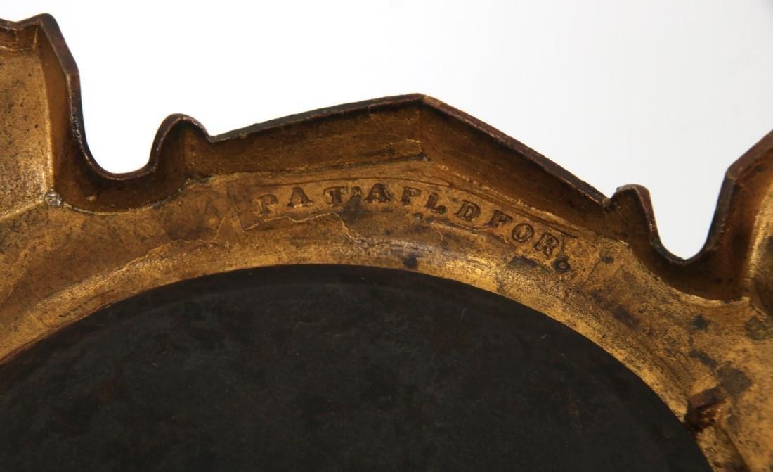 Longwy Pottery Oil Lamp - 7