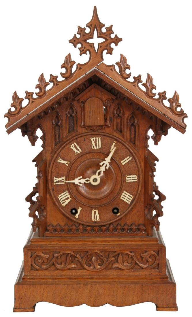 Double Fusee Table Model Cuckoo Clock