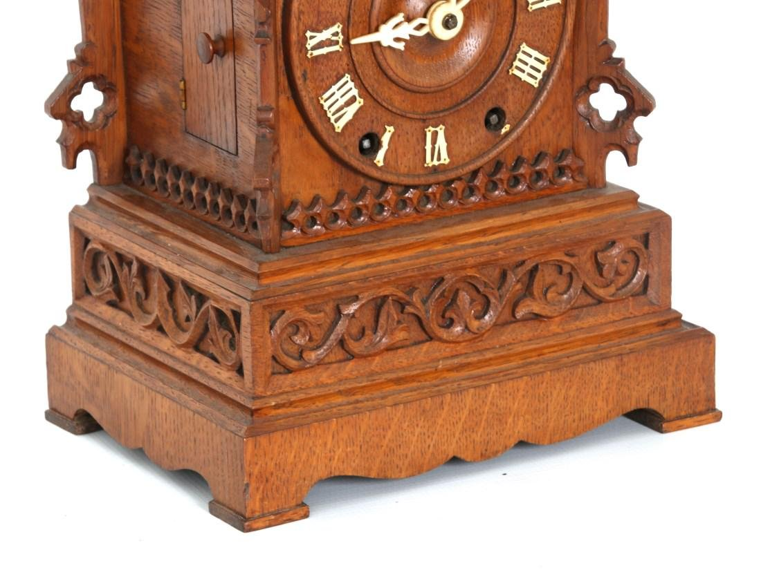 Double Fusee Table Model Cuckoo Clock - 4